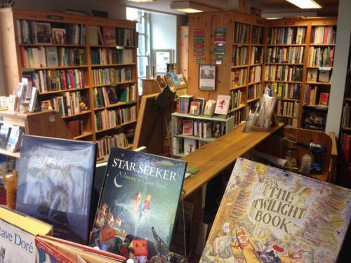 книжный магазин в Шотландии