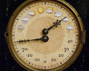 Antique Weather Clock - погодные часы на Arduino