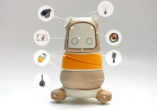 Робот-компаньон Kompis